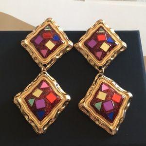 Zara big earrings